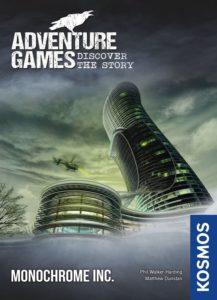 Adventure Games: The Monochrome Inc. Cover