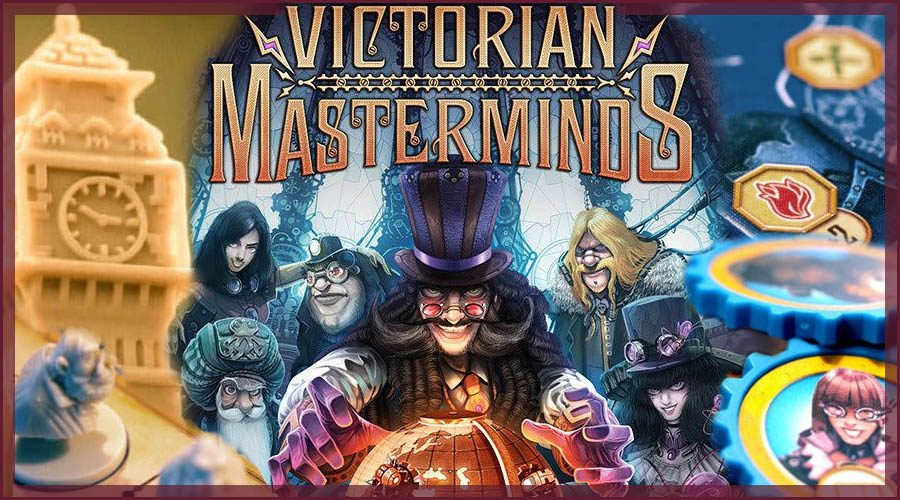Vivtorian Masterminds Board Game Review